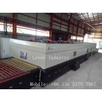 China Lever LV-TFQ series Glass Tempering Furnace with top fans convection for Low emissivity glass on sale