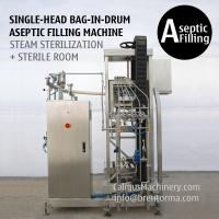 China 200 Litre Bag in Box Aseptic Filler 220 kg Bag in Drum Aseptic Filling Machine on sale