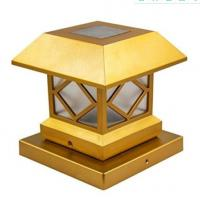 China Outdoor Solar Post Cap Lights , Waterproof  Solar Lamp Post Light For Patio on sale
