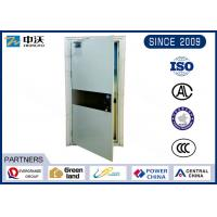 Buy cheap Single Open Heat Insulated Fire Door With Single Leaf Solid Construction from Wholesalers