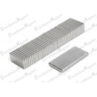 China N52 B20*5*2mm Strong Power Magnets NdFeB For Magnetic Separator / Swiitch / Generator on sale