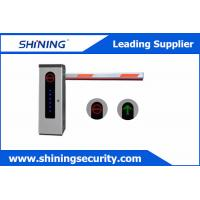 Quality High Integrated Parking Lot Barrier Gate / Parking Boom GatesWith Loop Detector wholesale