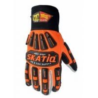 Buy cheap High Visibility Cotton Oilfield Safety Products Impact Safety Gloves from wholesalers