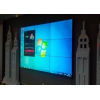 Buy cheap 55 Inch 3x3 Video Wall LCD Monitors , Large LCD Display With 3.5mm Narrow Bezel from Wholesalers