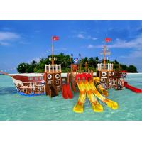 Buy cheap Spray Feature Park Pirate Ship Series Indoor Commercial Slide from wholesalers