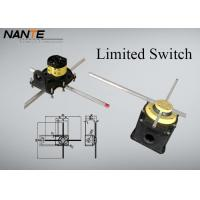 Quality Yellow Position ( Rotation Angle ) Limited Switch For Complex Cranes And Lifting Hoists wholesale