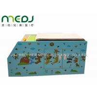 Buy cheap Wood Pediatric Hospital Exam Table With Big Double Door Storage Canbinet from Wholesalers