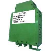 Buy cheap WAYJUN 12bits  RS485 to 4-20mA RS232 to 0-5V green D/A Converters analog I/O module CE approved  DIN35 from Wholesalers