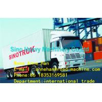 Buy cheap SINOTRUK STEYR Cargo Truck 6 X 4 371 hp 40T EUROII/III LHD OR RHD with one bed in cabin and Air condition from Wholesalers
