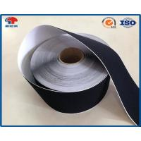 Buy cheap Black Soft Thin Double Sided Self Adhesive Hook And Loop Tape Roll With Glue from Wholesalers