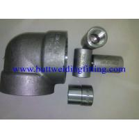 Buy cheap Steel Forged Fittings ASTM A694 F80 , Elbow , Tee , Reducer ,SW, 3000LB,6000LB  ANSI B16.11 from Wholesalers