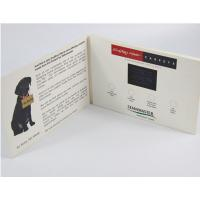 Quality Electronic Gifts Lcd Video Postcard With 10.1 Inch Screen / Lcd Video Booklet wholesale