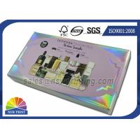 Buy cheap Custom Made Perfume Rigid Packaging Box With Plastic Blister Tray Inserts from Wholesalers
