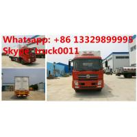 China 2017s customized dongfeng 4*2 RHD 50,000 day old chicks transported truck for sale, China supplier of baby chicks truck on sale