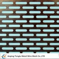 Buy cheap Slot Holes Perforated sheet from wholesalers