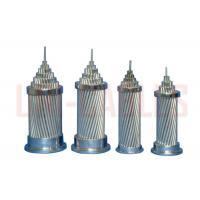 Buy cheap ASTM - B232 Aluminum Conductor Steel Reinforced , Light Weight ACSR Overhead Conductor from Wholesalers