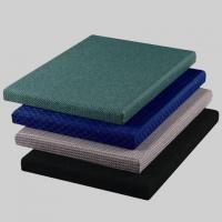 Buy cheap Green / Blue Acoustic Fabric Panels for Auditorium Decorative 25mm Thickness from Wholesalers