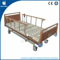 Buy cheap OEM Electric Medical Hospital Beds With Wooden Color Headboard Or Footboard from Wholesalers