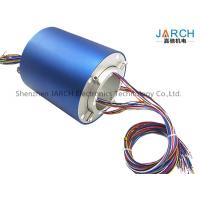 Quality JARCH Slip Ring Through Bore Define Slip Ring 80mm 500RPM Speed for Routing Hydraulic or Pneumatic Lines for sale