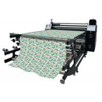 Buy cheap Feeding Top Drum Roller Heat Transfer Machine , Dye Sublimation Equipment from Wholesalers