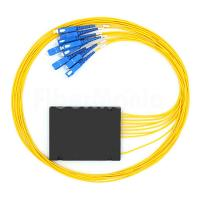 Buy cheap 1 X 8 Fiber Optic PLC Splitter 2.0mm Wide Operating Wavelength With SC / UPC from wholesalers