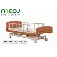 Quality Wooden Head Clinic / Hospital Patient Bed MJSD04-03 Electric Control for sale