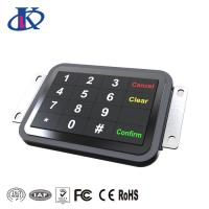 Buy cheap Door Access Waterproof Keypad with 16 Great Tactile Feel of Keys from wholesalers
