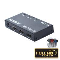 Buy cheap 4K 1.4b 1 HD HDMI Splitter Input 2 Output 5V 1A 2 Way Support 3D Video from wholesalers