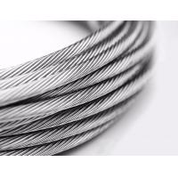 China 1x7 Stainless Steel Stranded Wire AISI Standard For Balustrades Or Standing Rigging on sale