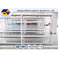 Quality Stable Warehouse Medium Duty Shelving 2 - 5 Levels With Hot Rolled Steel Q235B wholesale