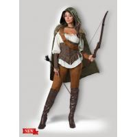 Buy cheap Female Halloween Costumes / Halloween Adult Costumes Enchanted Forest Huntress 1139 from Wholesalers