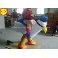 Quality Airblown Chicken Inflatable Rooster Costume Fully Inflates For Theme Game wholesale