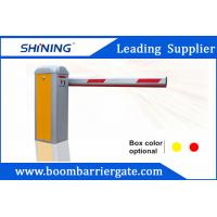 Buy cheap 1.8mm Remote Control Traffic Barrier Gate For Indoor Or Outdoor Parking Lot from wholesalers