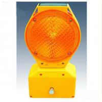 High Visible Wireless Solar Led Traffic Warning Strobe Light For Road Construction