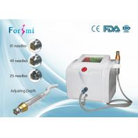 Buy cheap Portable fractional RF microneedle machine 80W RF output power 5Mhz frequency from Wholesalers