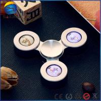 Quality Led Light Tri Fidget Sniper , Stress Relief Hand Toys 13000r / Min Max Speed wholesale