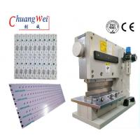 Buy cheap High Precision Pneumatic Type V-Cut PCB Separator Cutting PCB Depaneling Machine from Wholesalers