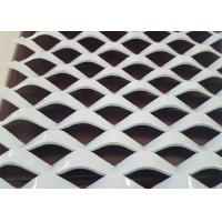 Buy cheap 2 . 0 mm Metal Powder Coated Expanded Mesh , Decorative Aluminium Expanded Metal Sheets from Wholesalers