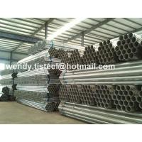 China en 10255 astm a53 galvanized steel pipe Stock BS1387 export to Chile on sale