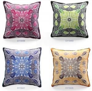 Quality Custom home sofa decorative cushion,beach shell conch cushion,own design print cushion wholesale