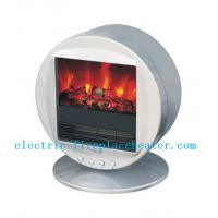 China Portable ABS Pleasant Hearth Electric Fireplace , Bedroom Desktop Electric Fireplace on sale
