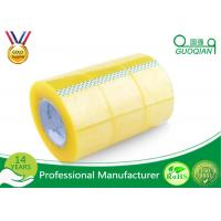Buy cheap Pressure Sensitive BOPP Packing Tape Strong Adhesive Single Sided Clear Shipping Tape from Wholesalers