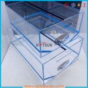 China 2016 acrylic sneaker box, acrylic shoe box, shoe storage box display rack on sale