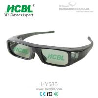 Buy cheap Button Battery Active Shutter 3D Glasses / Eyeglasses For DLP Projector / Xpand Cinema / 3D TV from Wholesalers