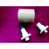 Quality Dustproof Power Plant Nylon Conveyor Rollers With Shaft / Bearing for sale