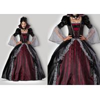 Quality Vampires Of Versailles 1083 Womens Halloween Costumes , Gray Red Scary Halloween Costumes wholesale