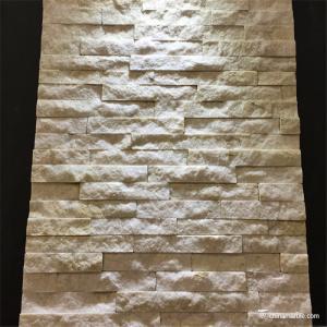 China Mini Natural Stone Quartzite Ledgestone Veneer Panel For Backsplash / Fireplace on sale