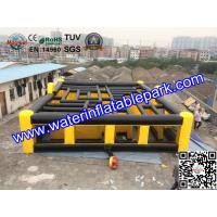 Buy cheap Laser Tag Inflatable Maze Hire / Inflatable Maze For Amusement Park from Wholesalers