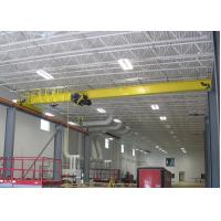 Buy cheap FEM / DIN Standard Single Girder Overhead Travelling Crane With Monorail Electric Hoist from Wholesalers