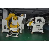 China Metal Coiled Material Decoiler  And Straightener Feeder 3 In 1 Machine on sale